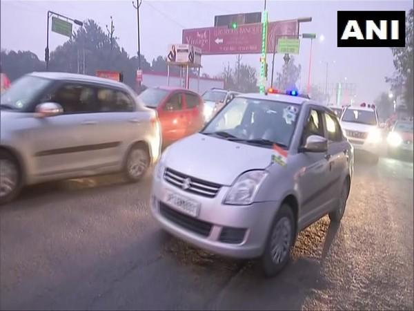 Priyanka Gandhi en route to visit family of farmer died in R-Day violence in Rampur