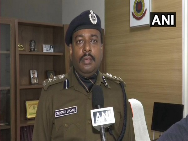 Chinmoy Biswal, Public Relations Officer of the Delhi Police in conversation with ANI. (Photo/ANI)