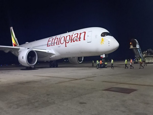 Ethiopian Airlines' cargo flight