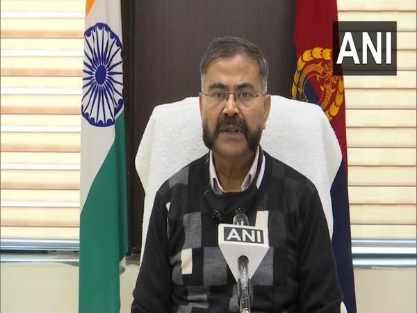 Prashant Kumar, Additional Director General (ADG) of Law and Order in Uttar Pradesh (Photo/ANI)