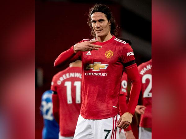 Edinson Cavani (Photo/ Manchester United Twitter)