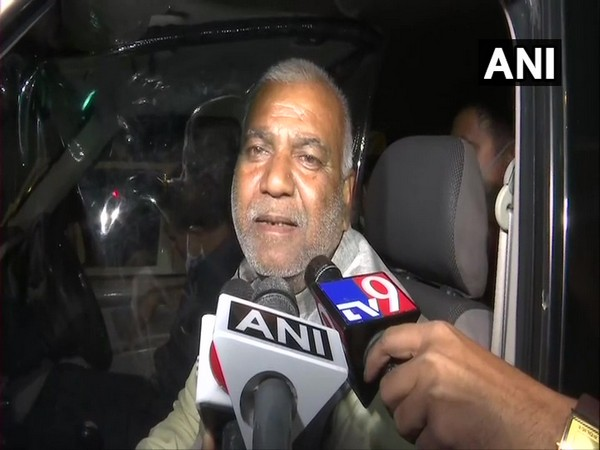 Mithilesh Dubey, father of officer Suraj Kumar Dubey (Photo/ANI)