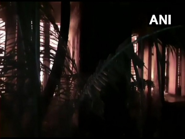 Visuals from the MSED office in Thane. (Photo/ANI)