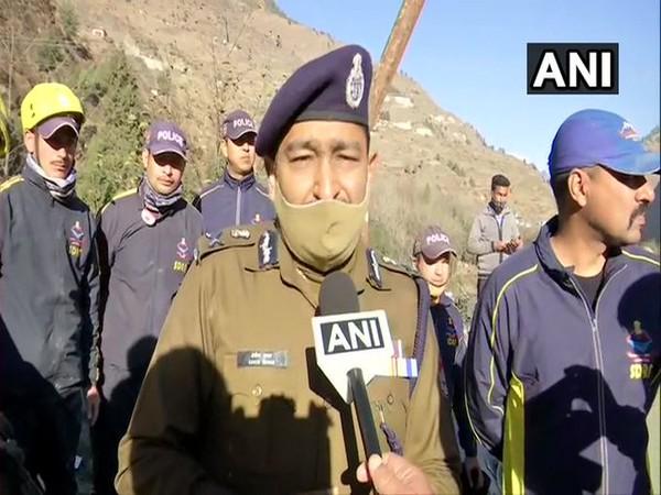 Ashok Kumar, Uttarakhand DGP speaking to ANI on Monday (Photo/ANI)