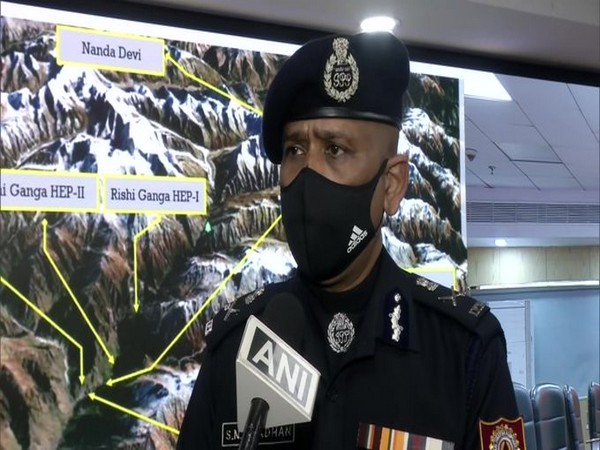 SN Pradhan, Director General of National Disaster Rescue Force.