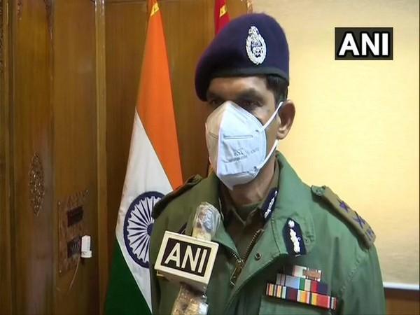 Vijay Kumar, Inspector General of Police, Kashmir Zone (File Photo/ANI)