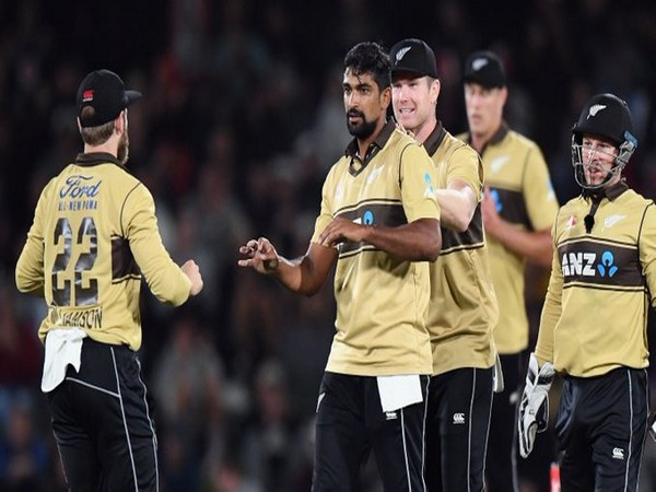 New Zealand leg-spinner Ish Sodhi picked four wickets in the opening T20I (Photo/ ICC Twitter)