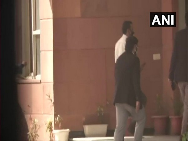 Shantanu Muluk joined probe in Toolkit case at Delhi Police Cyber Cell office. (Photo/ANI)