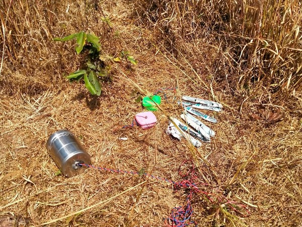 BSF recovered a huge cache of explosives in Kadalibandha forest
