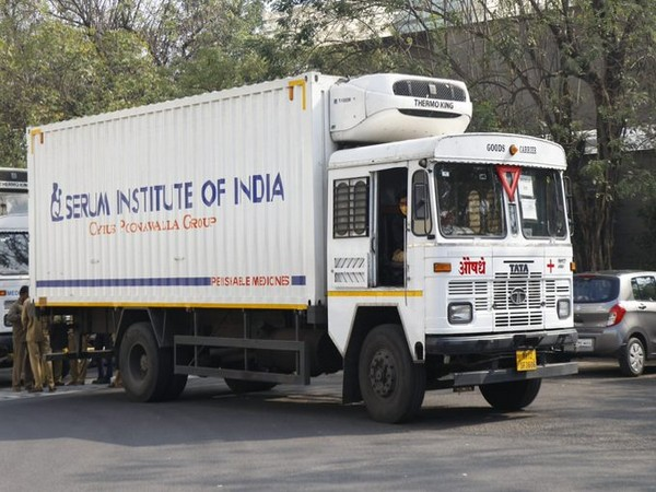 World Health Organisation (WHO) South-East Asia tweeted photos of the first shipments being loaded onto a truck at Serum's manufacturing facility in Pune.