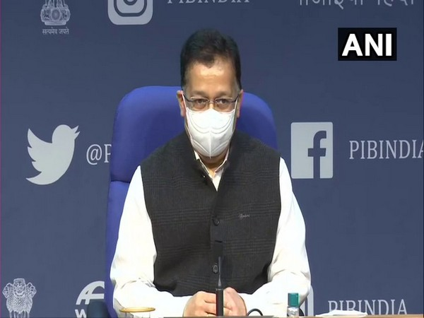 Rajesh Bhushan, Secretary of the Union Health Ministry. (Photo/ANI)