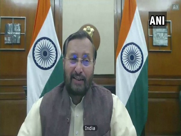 Union Minister Prakash Javadekar at UNSC open debate on Climate and Security