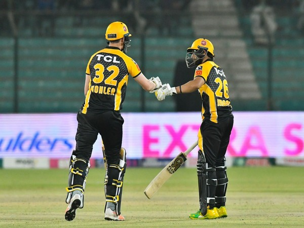 Peshawar Zalmi secured a 6-wicket win over Multan Sultans in the match. (Photo/ PSL Twitter)