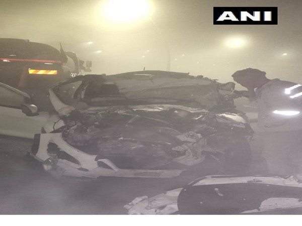 Visuals from the incident. (Photo/ANI)