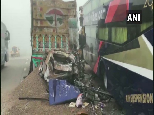 Visuals from the accident site (Photo/ANI)