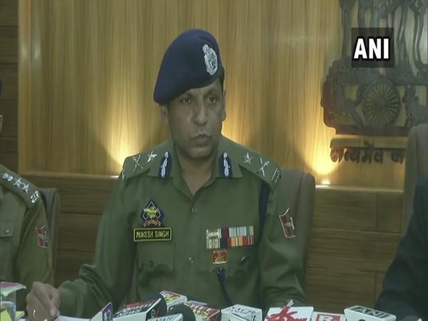 Jammu Inspector General of Police, Mukesh Singh (Photo/ANI)