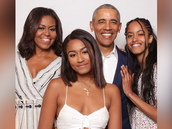 Barack Obama posted family picture on the occasion of Valentine's Day. (Photo credit: Twitter/Barack Obama)