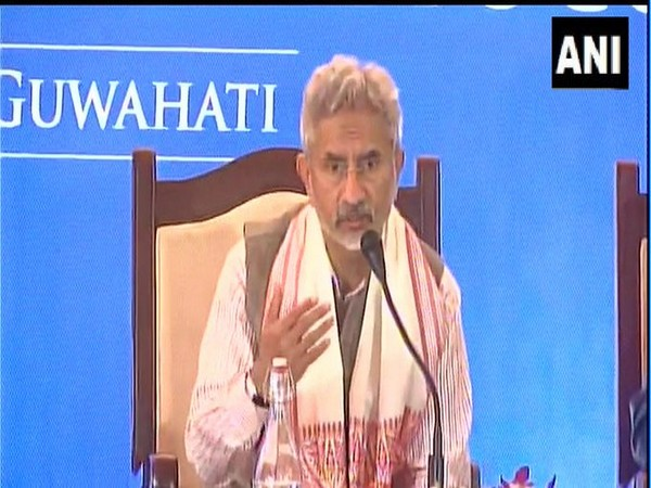 External Affairs Minister (EAM) S Jaishankar speaking at a joint press conference in Assam on Monday.