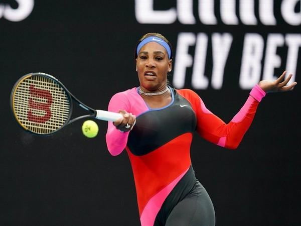 American tennis player Serena Williams (Photo/ Australian Open Twitter)