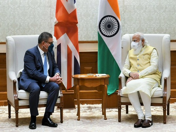 During his visit to India, President-designate of 26th United Nations COP26 Alok Sharma met PM Modi. (Photo credit: British High Commission)