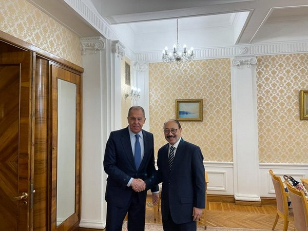 Foreign Secretary Harsh Shringla and Russian Foreign Minister Sergey Lavrov.