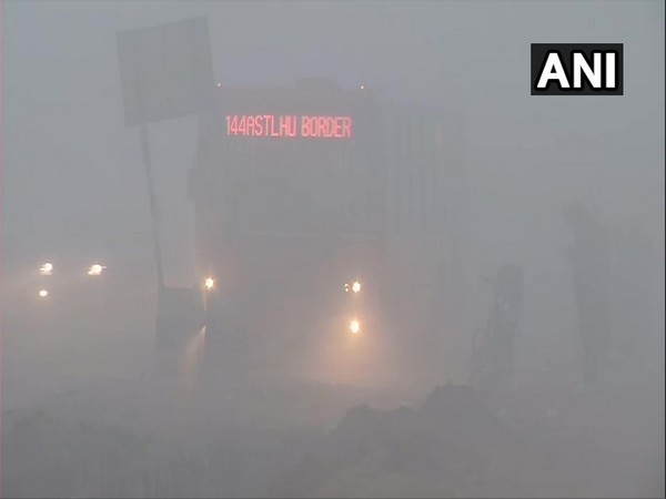Visuals from Sindhu border on Friday. (Photo/ANI)