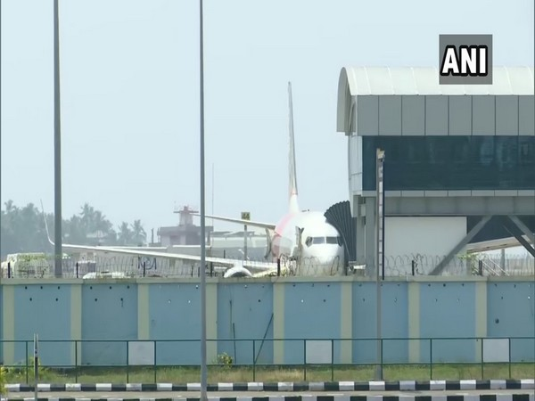 Visuals from the Thiruvananthapuram airport (Photo/ANI)