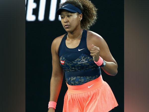Tennis player Naomi Osaka (Photo/ Australian Open Twitter)