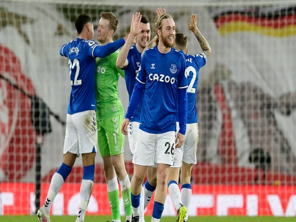 Everton secured a 2-0 win over Liverpool. (Photo/ Everton Twitter)