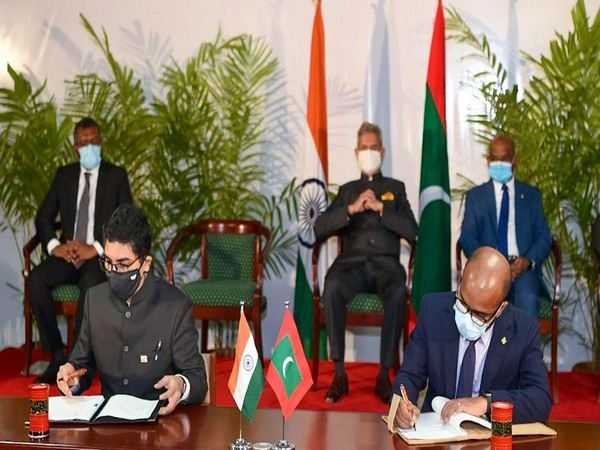 The agreement was signed during the visit of External Affairs Minister S Jaishankar to the Maldives.