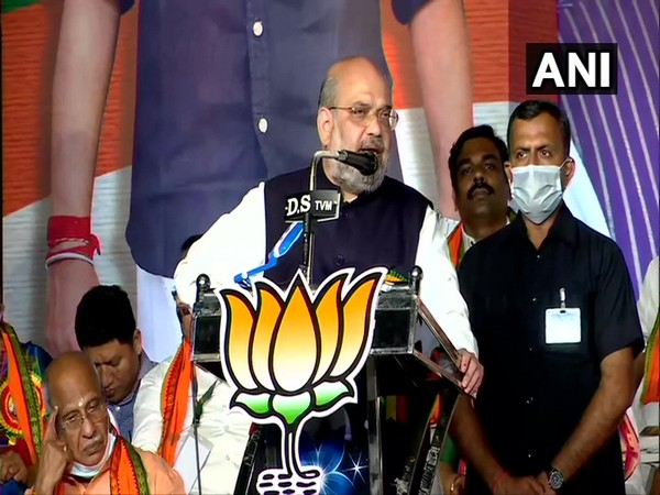 Union Home Minister Amit Shah in Kerala (Photo/ANI)