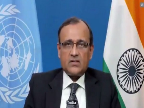 Ambassador TS Tirumurti Permanent Representative of India to the United Nations
