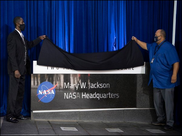 In a ceremony, NASA on Friday formally named the agency's headquarters building in Washington in Jackson's honour.