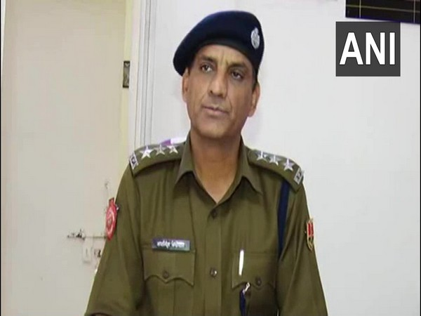 Assistant Commissioner of Police in Jaipur, Raisingh Beniwal (Photo/ANI)