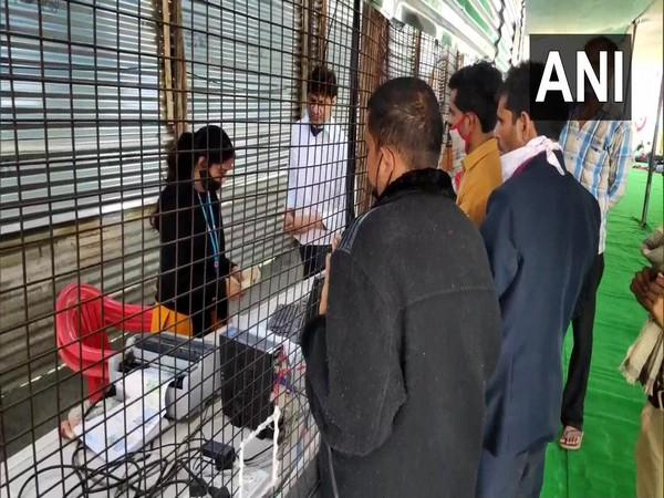 Visual from Haridwar railway station (Photo/ANI)