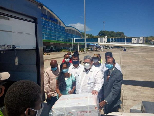 St Vincent and the Grenadines  Prime Minister Ralph Gonzalez personally reached the airport to receive the consignment.