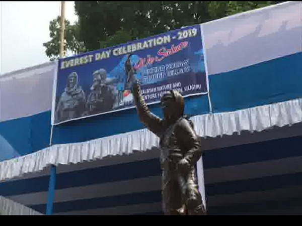 Observation of Everest Day in Siliguri. Photo/ANI