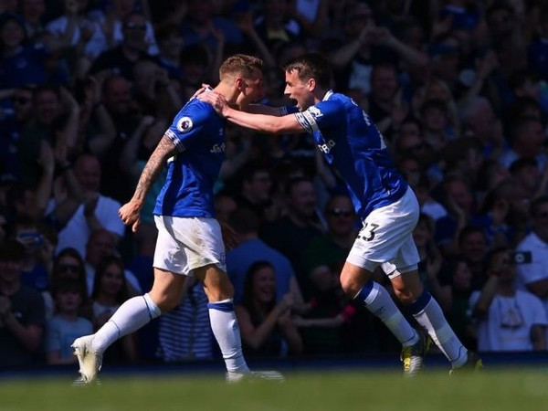 Everton defeated Manchester United by 4-0 at Goodison Park on Sunday (Photo/ Everton Twitter)