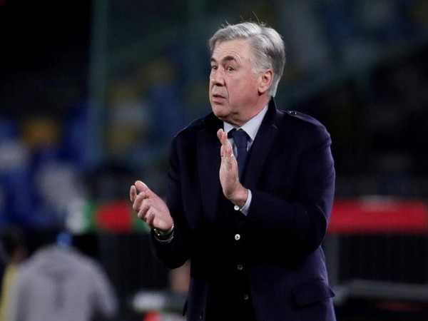 Everton's new coach Carlo Ancelotti