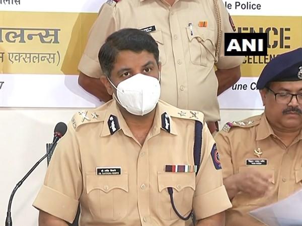 Joint Commissioner of Pune City Police, Ravindra Shisve (Photo/ANI)