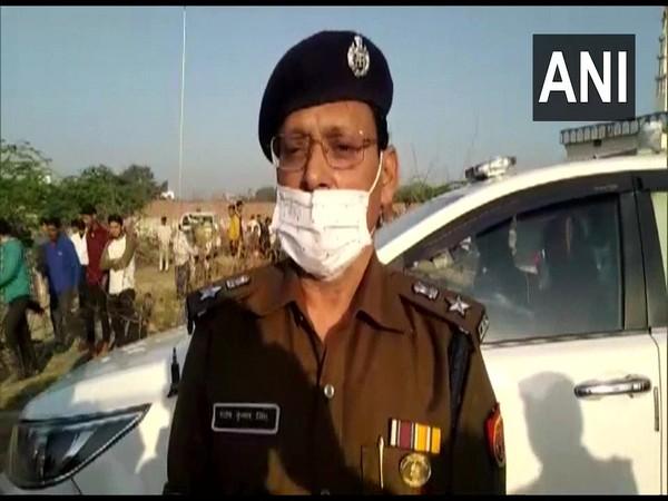 Senior Superintendent of Police Santosh Kumar Singh. (Photo/ANI)
