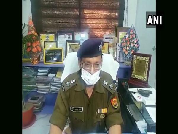 Bulandshahr SSP Santosh Kumar Singh