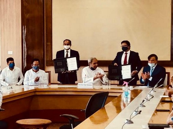 Odisha Government signs MoU with Arcelor Mittal Nippon Steel (Photo/Twitter)