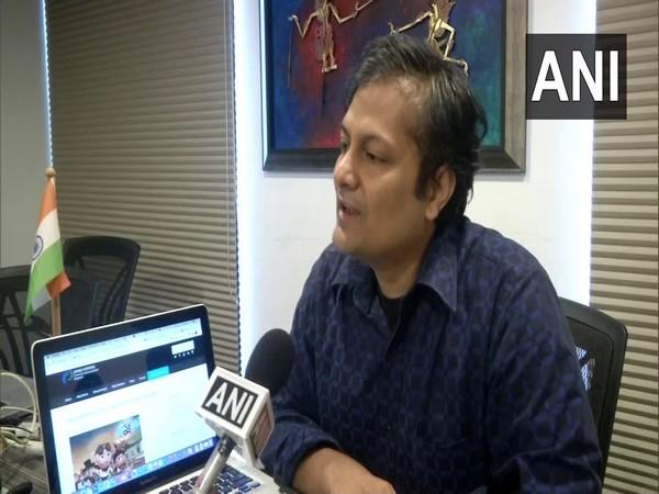 Bhargav Shriprakash, the founder of app speaking to ANI. (Photo/ANI)