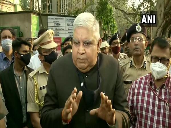 West Bengal Governor Jagdeep Dhankhar (Photo/ANI)
