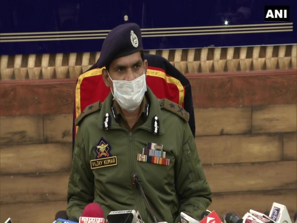 Kashmir Inspector-General of Police (IGP) Vijay Kumar