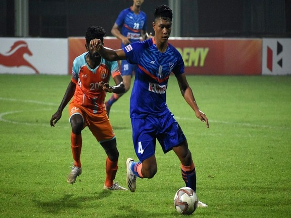 Indian Arrows went down to Chennai City FC on Thursday (Image: AIFF)