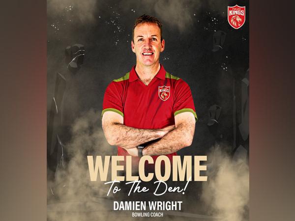 Damien Wright (Photo/ Punjab Kings Twitter)