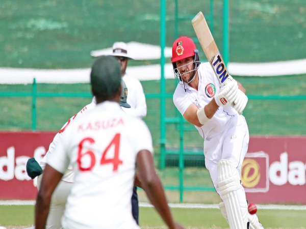Afghanistan secure 6-wicket win over Zimbabwe in 2nd Test