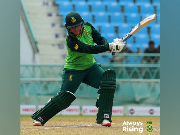 South Africa opener Lizelle Lee (Image: Cricket South Africa Twitter)
